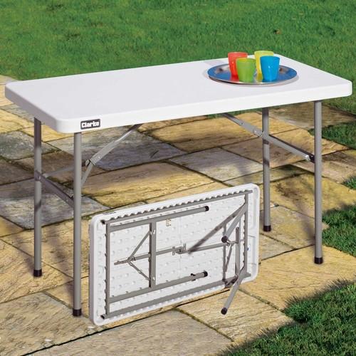 Straight Trestle Table